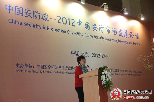 市场论坛-中安协副理事长靳秀凤主题演讲