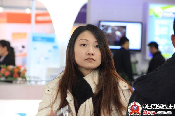 2012中国国际安博会花絮―工作中的美女